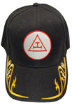 ROYAL ARCH Mason Cap Masons Black Hat Masonic Baseball Cap