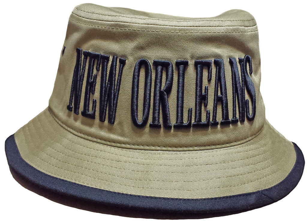 New Orleans Bucket Hat Khaki and Black Fishing Boonie Saints NFL Footb –  Buy Caps and Hats 80f20075e6d