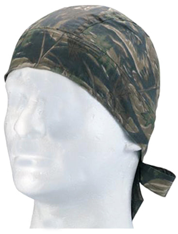 Camouflage Smokey Branch Stripe Head Wrap Doo Rag Camo Durag Skull Cap Cotton Sporty Motorcycle Hat