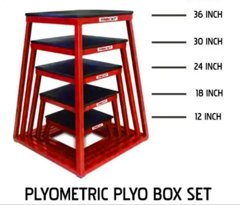 Plyometric plyo box set
