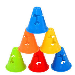 "TRAINING MINI CONES - 3 inch ""Anti-wind"" - Arcade Sports"