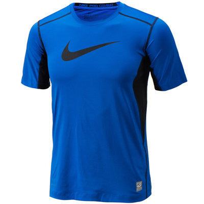 Boys' Nike Pro Core Fitted Swoosh Tee Shirt - Arcade Sports