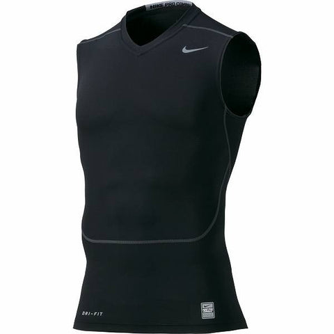 Nike Pro Compression Sleeveless V-Neck - - Arcade Sports