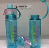 Water Bottle with SprayMist® by SportsWorkz® - Arcade Sports