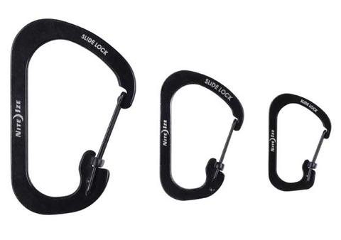 Nite Ize - SLIDELOCK CARABINER 3Pack #2, #3 & #4 - Arcade Sports