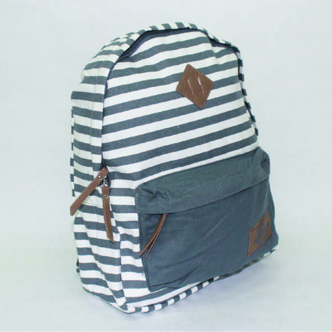 Dickies Classic Backpack - Charcoal Stripe - Arcade Sports