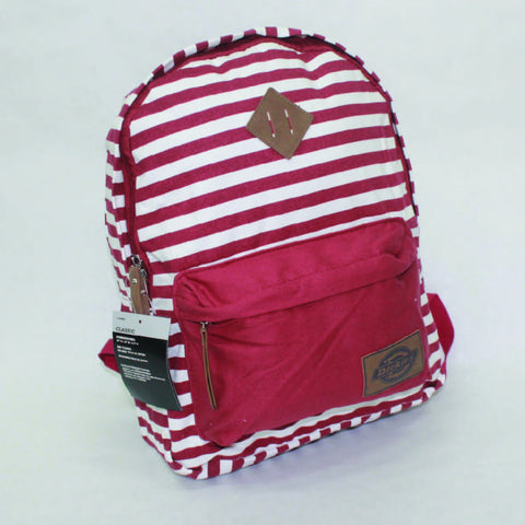 Dickies Classic Backpack - Scarlet Stripe - Arcade Sports