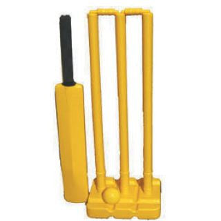 Kwik Cricket Stumps Set - Plastic
