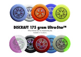 Discraft Ultrastar 175gram - UPA Approved Frisbee + - Arcade Sports