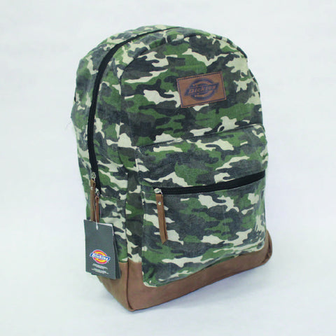 Dickies Hudson Backpack - Washed Camo - Arcade Sports