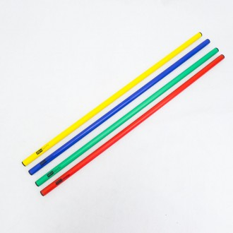 Hurdle / Slalom Poles in premium plastic (multi-purpose) - Arcade Sports