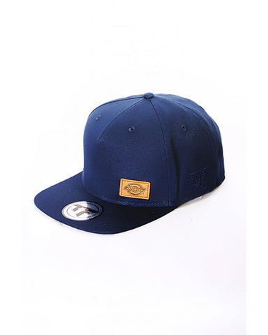 Dickies 5 Panel Square Peak Snap Back - Blue - Arcade Sports