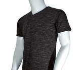 V Neck Tee - Cotton Lycra Knit - Arcade Sports