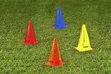 Air Cut Training Cones - 9 inch (pack of 10) - Arcade Sports