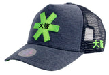 OSAKA HOCKEY TRUCKER CAP - Melange Fabric