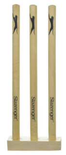Cricket Wooden Stump Set - Arcade Sports