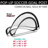 Pop up Goal-Post - Collapsible, Portable
