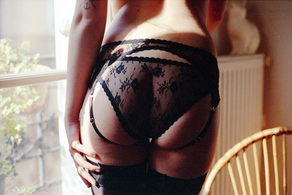 Sabrina Ouvert Knickers - Sacha Kimmes Lingerie