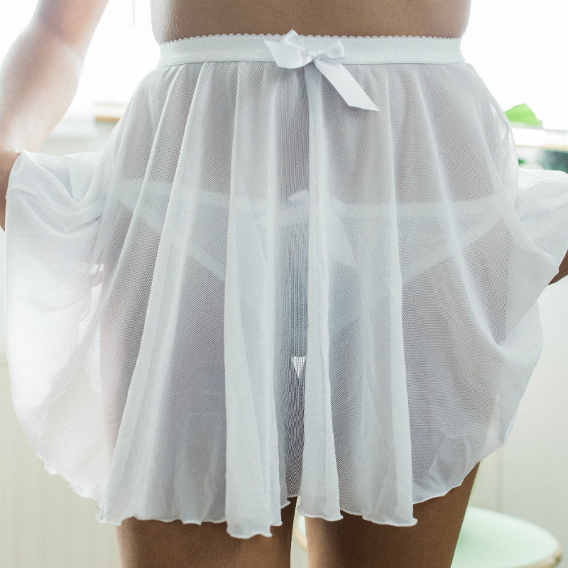 Emma Skirt - Ready to Ship (Size S) - Sacha Kimmes Lingerie