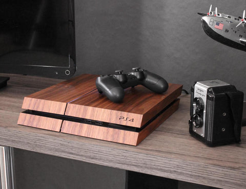 Wood Covered PS4