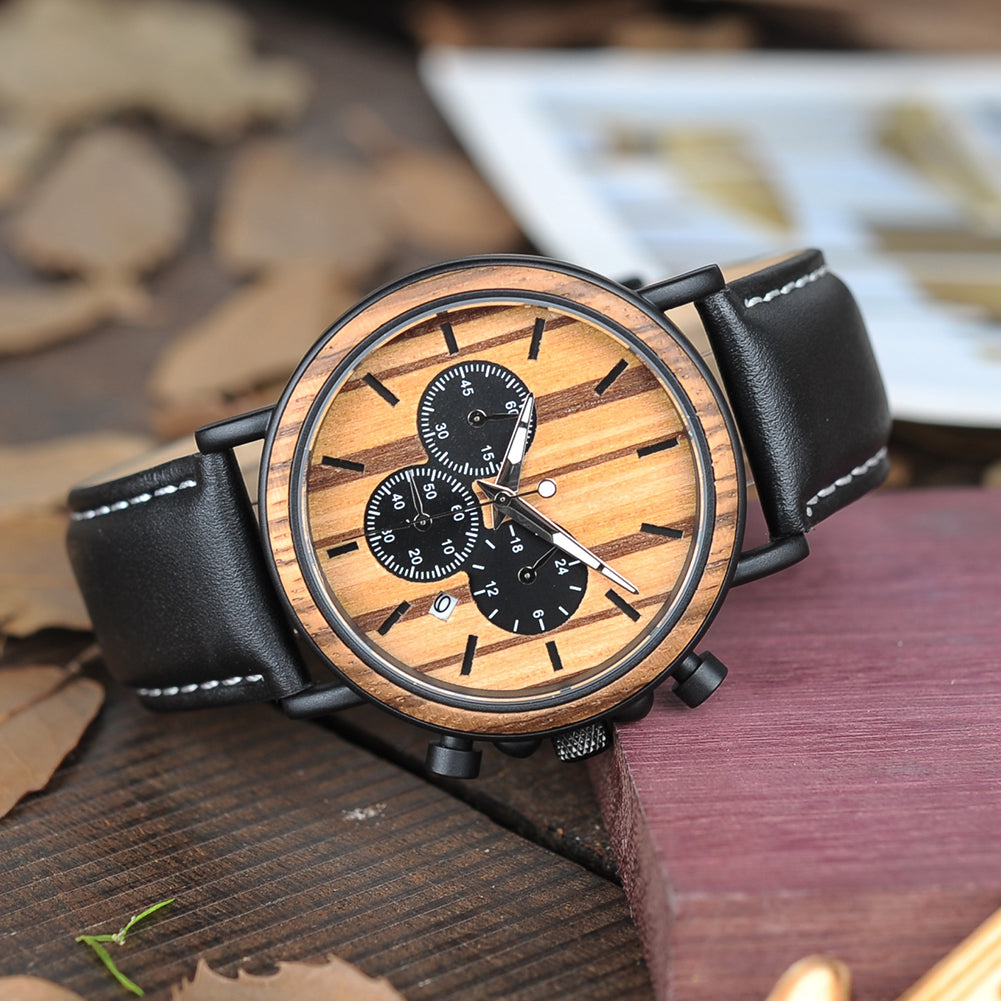 uwood img quartz bamboo brand clock purple men wood watch fashion item luxury watches analog and women casual