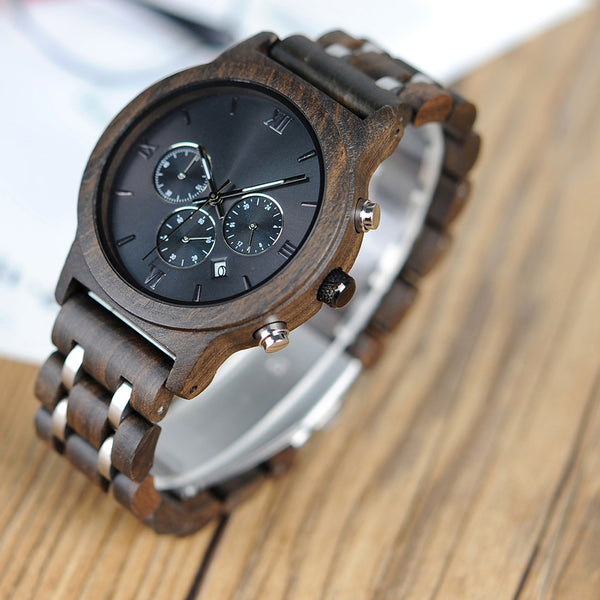 Davis - Wooden Watch - Personalised Option