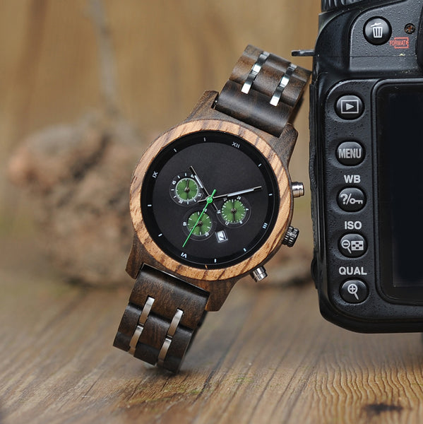 Lady - Wooden Watch - Personalised Option