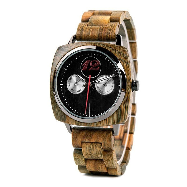 Jackman 1 - Wooden Watch - Personalised Option