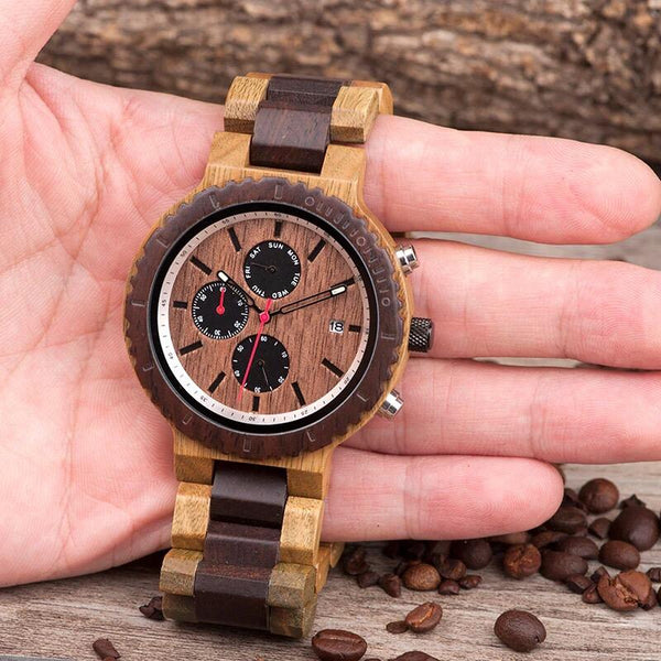 Urban - Wooden Watch - Personalised Option