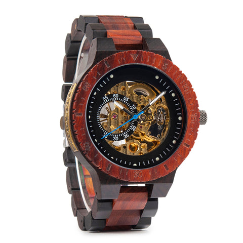 Cahill - Mechanical Wooden Watch