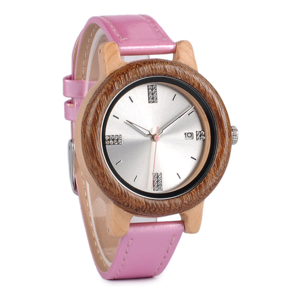 Nicole - Wooden Watch - Personalised Option