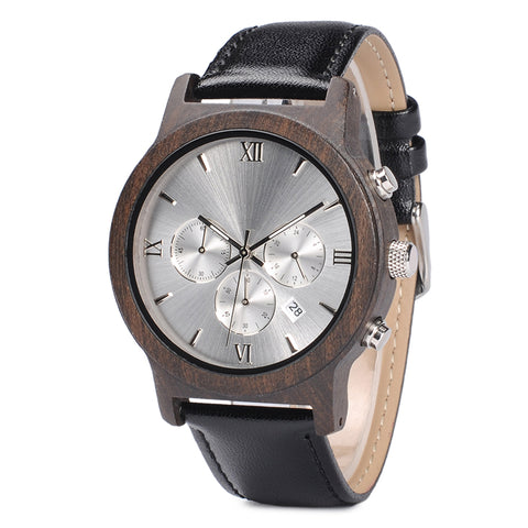 Heath - Wooden Watch - Personalised Option