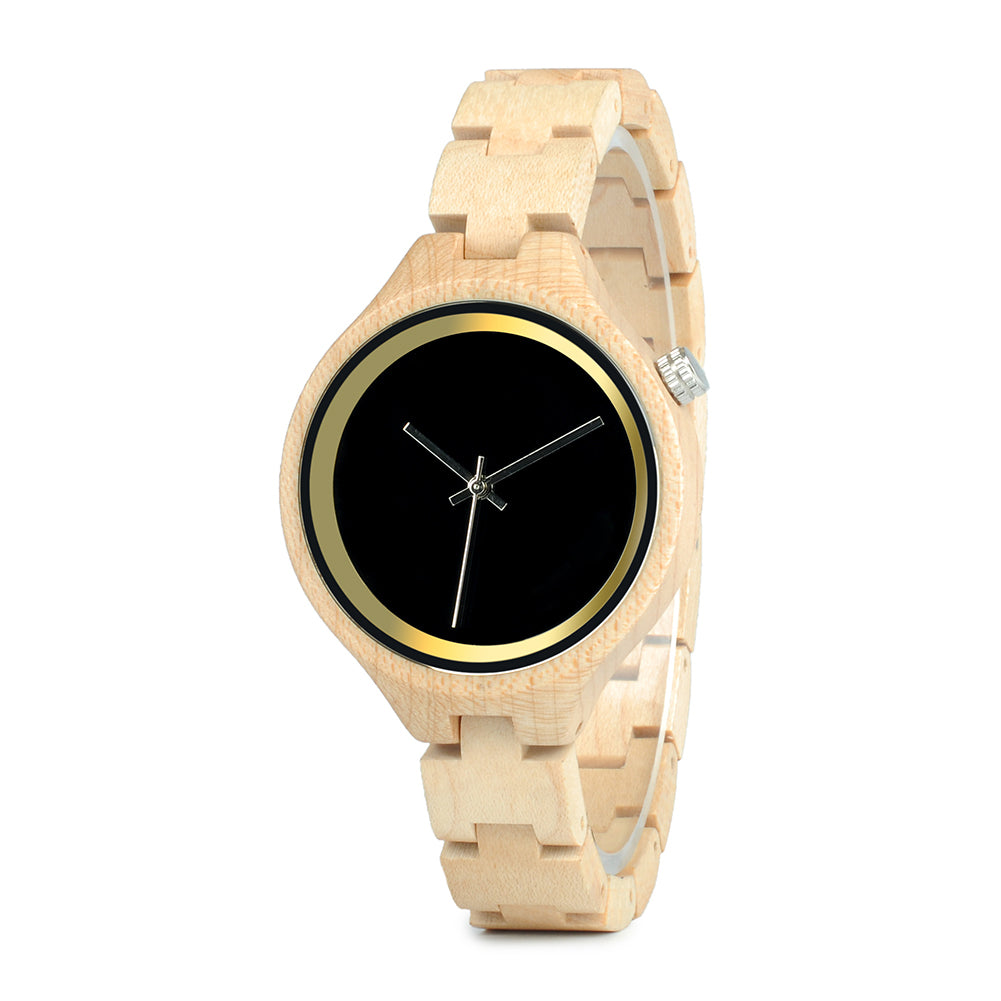 Ella - Wooden Watch - Personalised Option