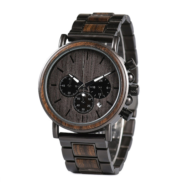 Hawke - Wooden Watch - Personalised Option