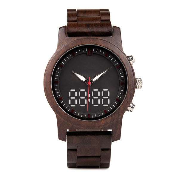 Campese - Wooden Watch - Personalised Option