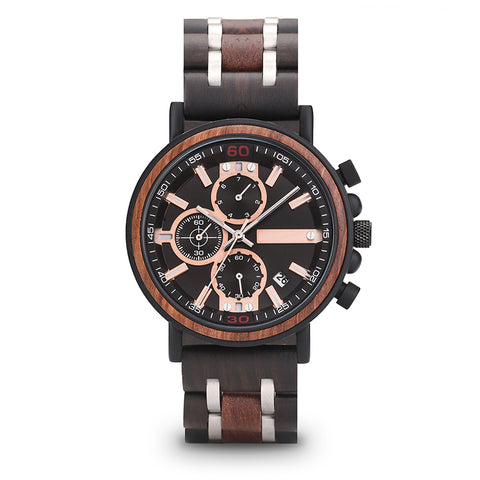 Gould - Wooden Watch - Personalised Option