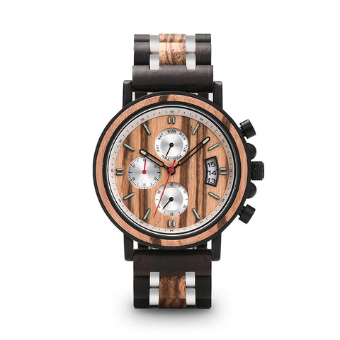 Thorpe - Wooden Watch - Personalised Option