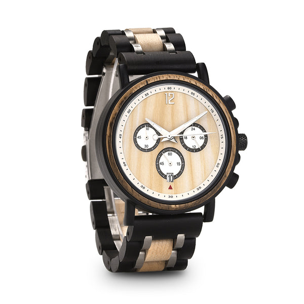 Hackett - Wooden Watch - Personalised Option