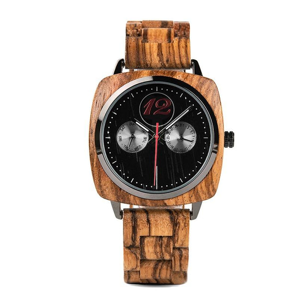 Jackman 2 - Wooden Watch - Personalised Option