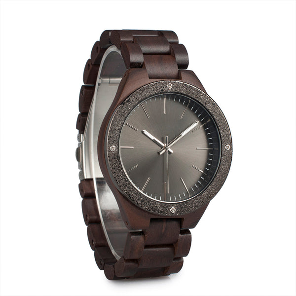 Dusty - Wood Watch - Personalised Option