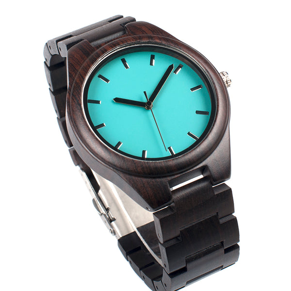 Brue - Wooden Watch - Personalised Option