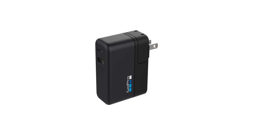 GoPro Super Charger Dual Port Fast Charger HERO7, HERO6 & HERO5 BLACK