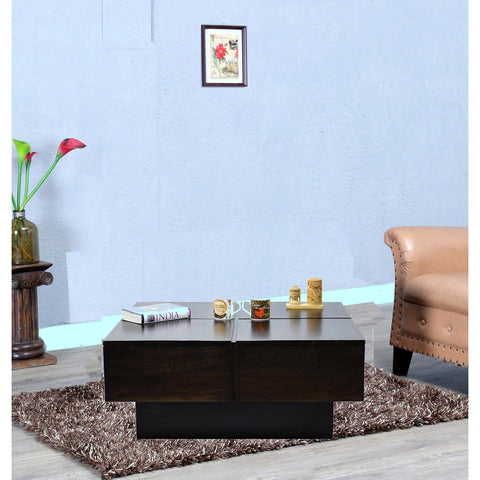 Daintree Shesham Wood CENTO Coffee table Dark Walnut