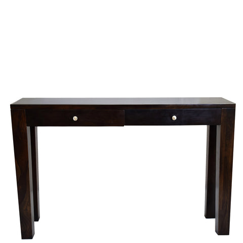 TimberTaste Sheesham Wood CONY 2 DRAW Console Hall Writing Table.