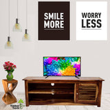 TimberTaste Sheesham Wood DYNA TV Cabinet Natural Teak Finish.