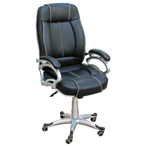 Daintree LILLY Black White Stitch Directors, Executive, Boss, conference high back office chair.