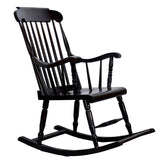 TimberTaste Relax OLDY Rocking Chair Natural Finish Adult Chair / Relax Chair For Living Room / Garden & Outdoor.