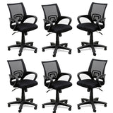 TimberTaste 4 Pieces of ROCKY Computer conference Task Revolving office chair (Set of 4).