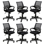 TimberTaste 8 Pieces of ROCKY Computer conference Task Revolving office chair (Set of 8).