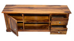 Timbertaste Sheesham Solid Wood SHENOY TV Unit Cabinet Entertainment Stand, solid wood, fish tank stand, wooden table, multi-purpose cabinet